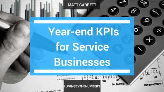 Year-end KPIs for Service Businesses