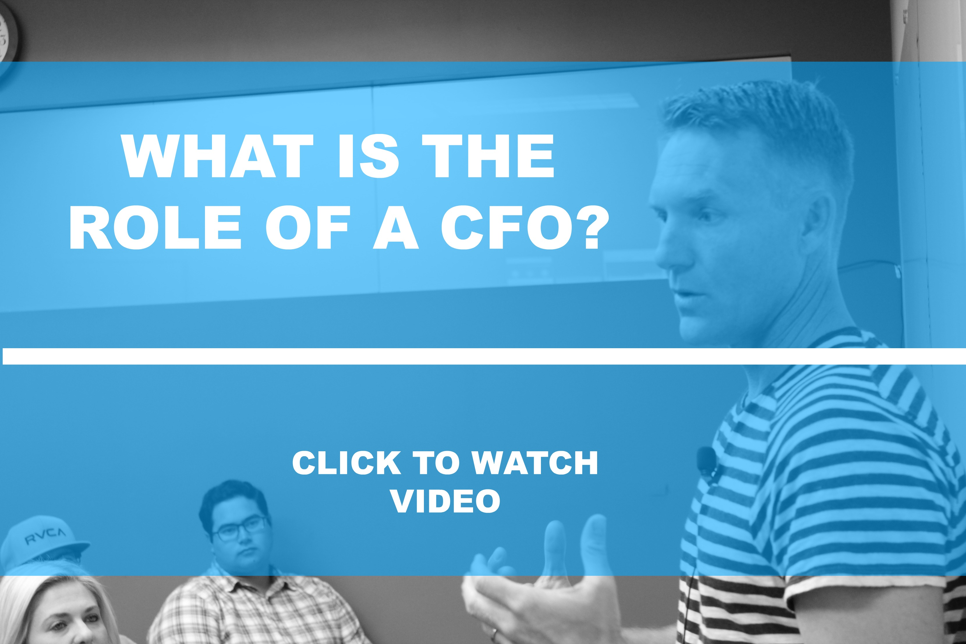 What is the Role of CFO?