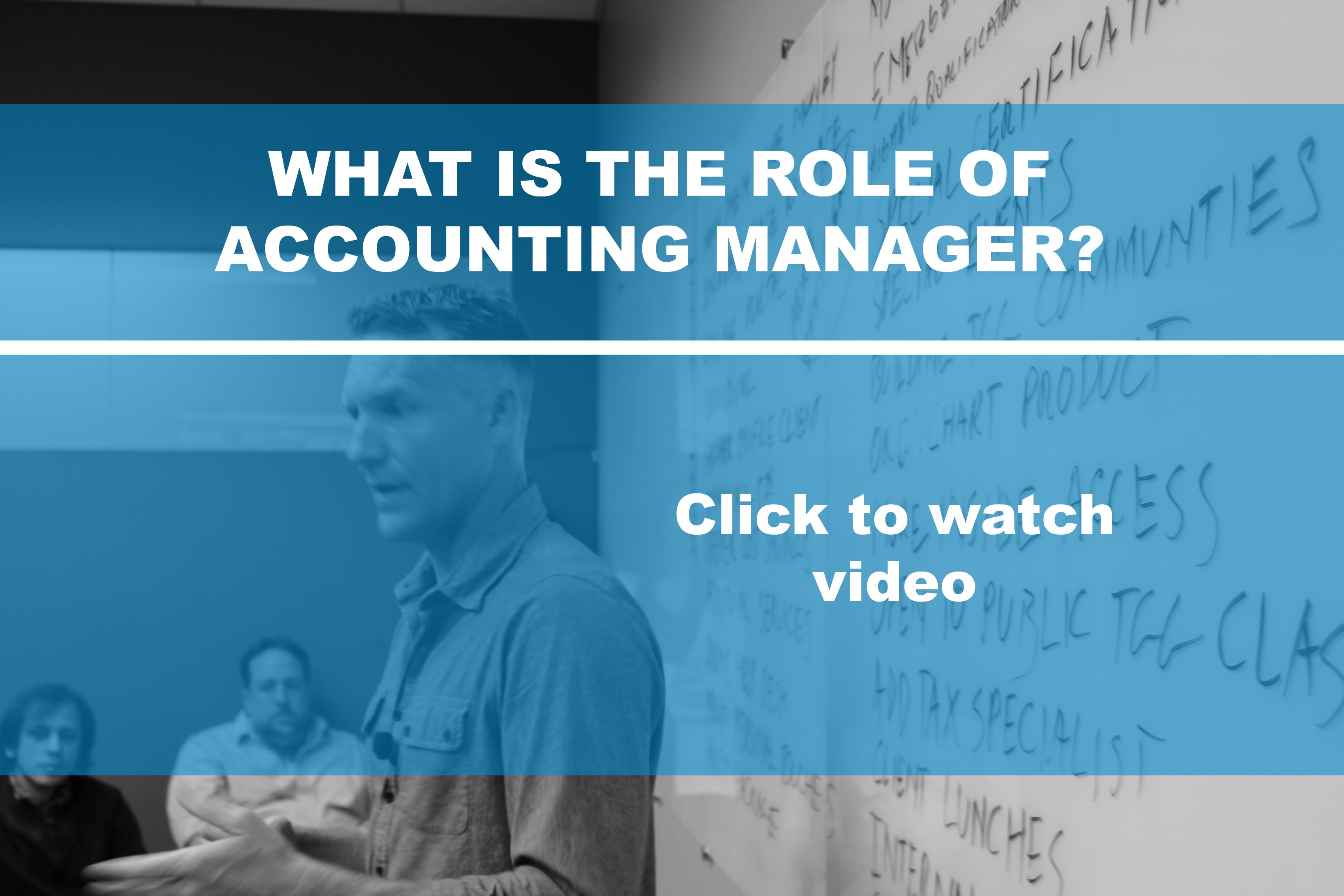 What is the Role of Accounting Manager?