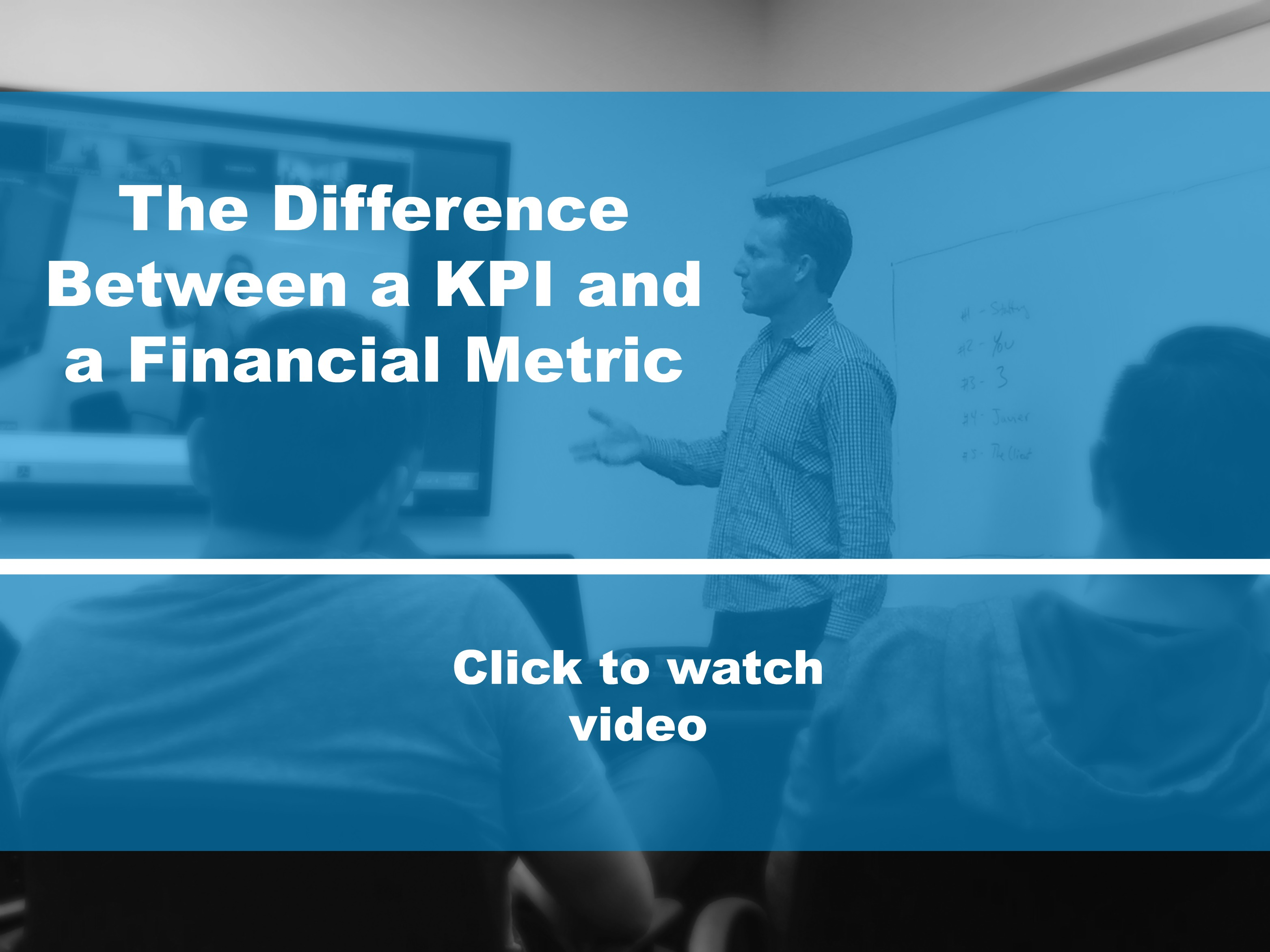 The Difference Between a KPI and a Financial Metric