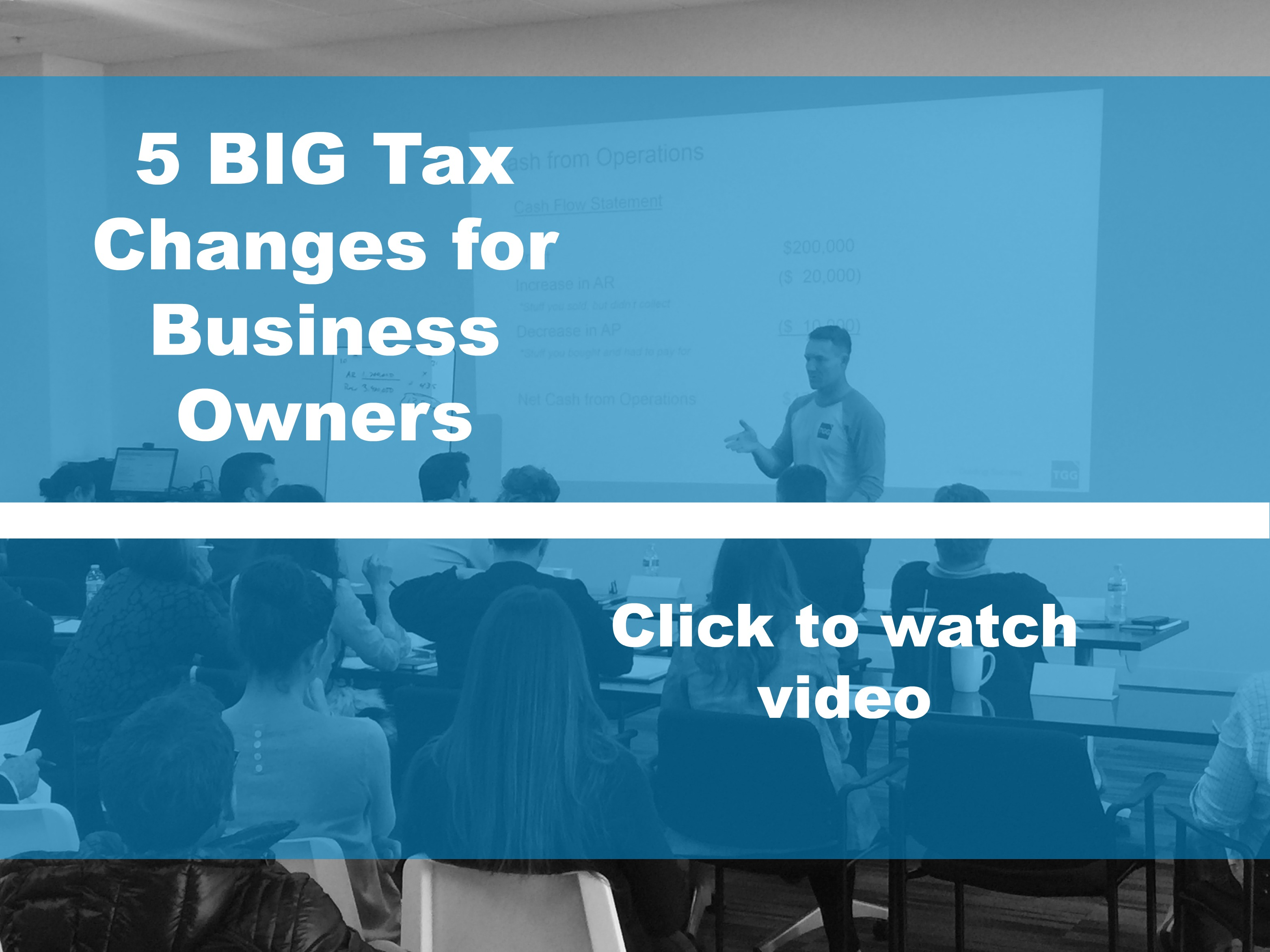 5 BIG Tax Changes for Small Business Owners